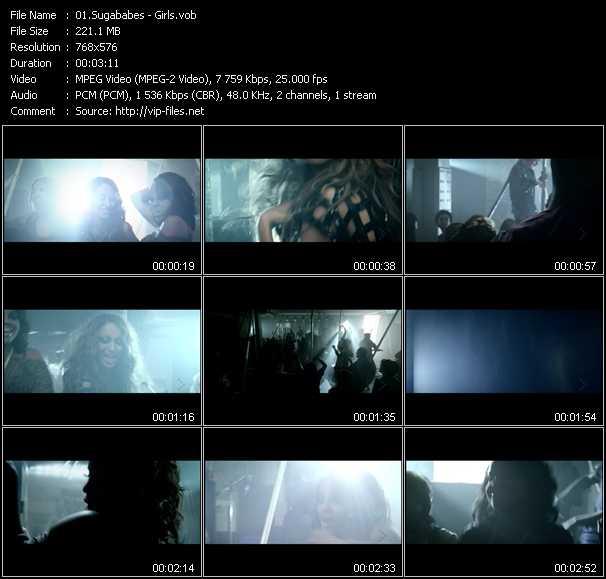 Sugababes видеоклип vob