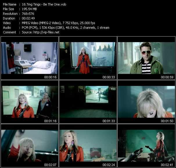 Ting Tings video vob