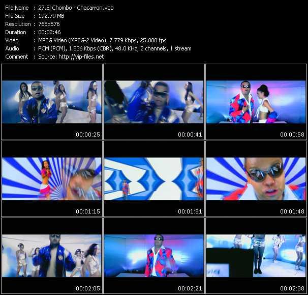 Screenshot of Music Video El Chombo - Chacarron