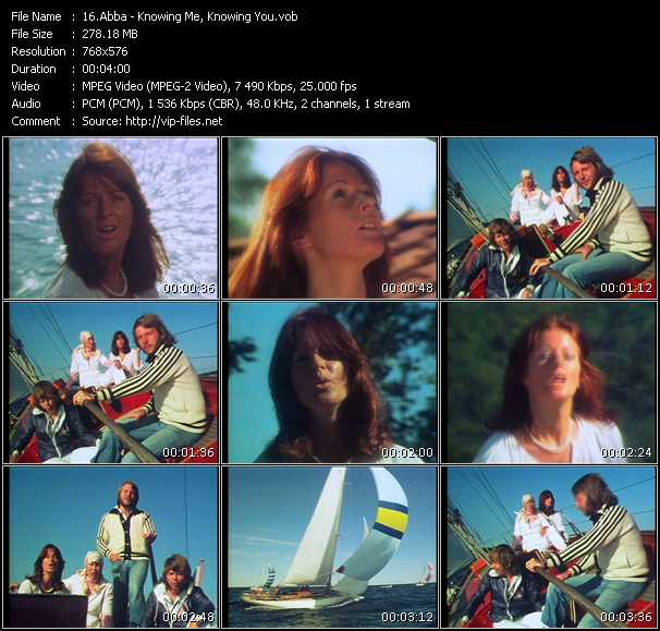 Screenshot of Music Video Abba - Knowing Me, Knowing You