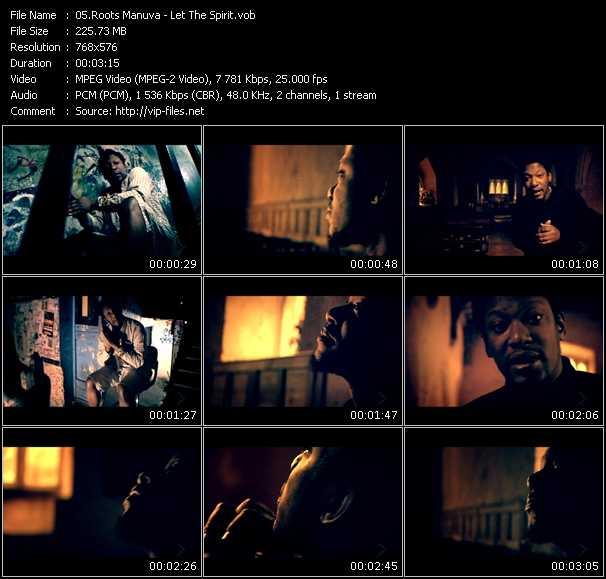 Screenshot of Music Video Roots Manuva - Let The Spirit
