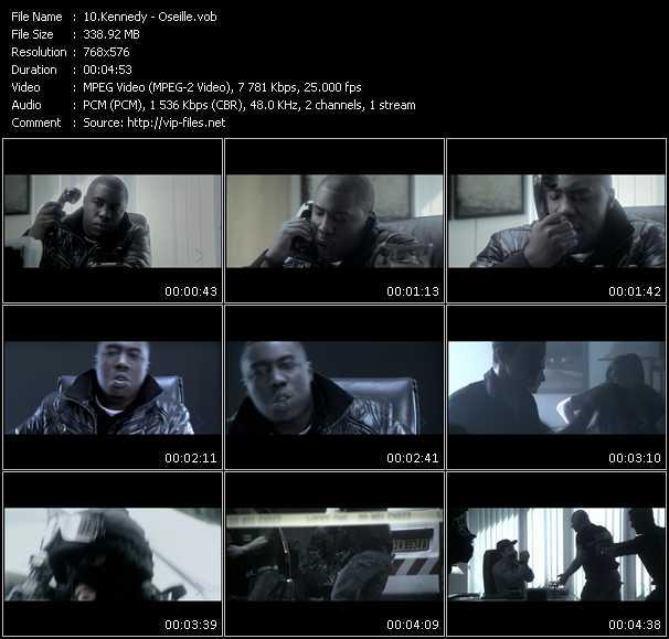 Screenshot of Music Video Kennedy - Oseille