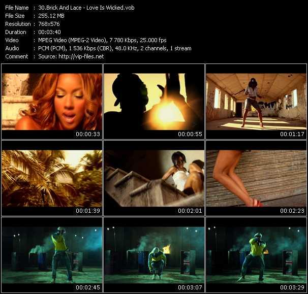 Brick And Lace video vob