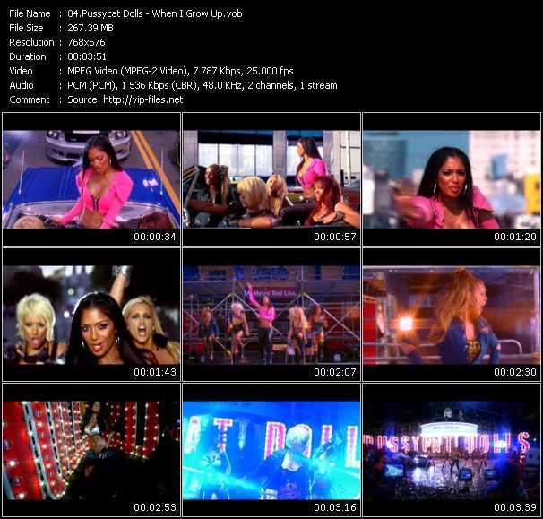 Pussycat Dolls video vob