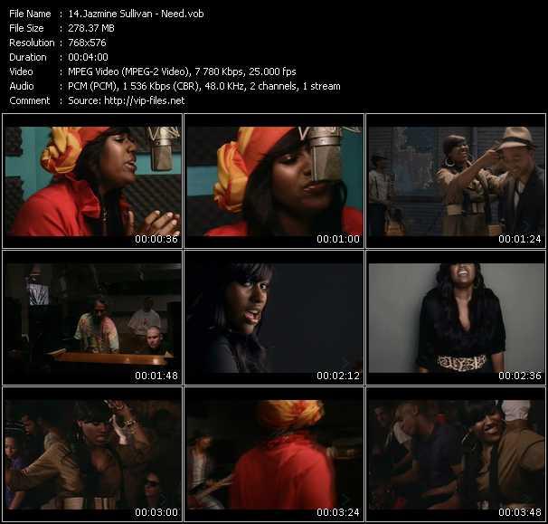 Jazmine Sullivan video vob