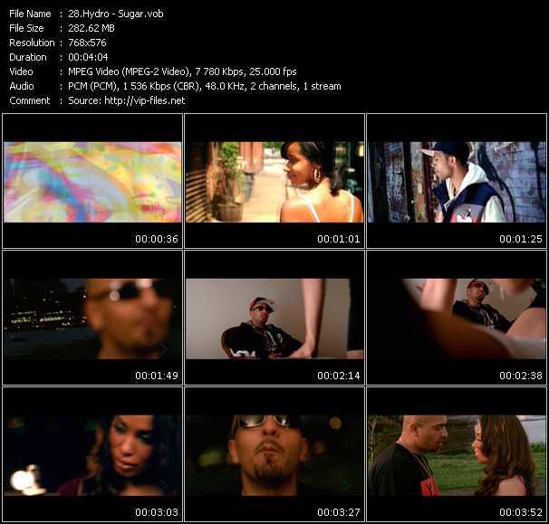 Screenshot of Music Video Hydro - Sugar