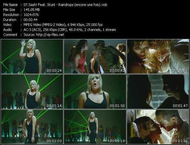 Sash! Feat. Stunt video vob
