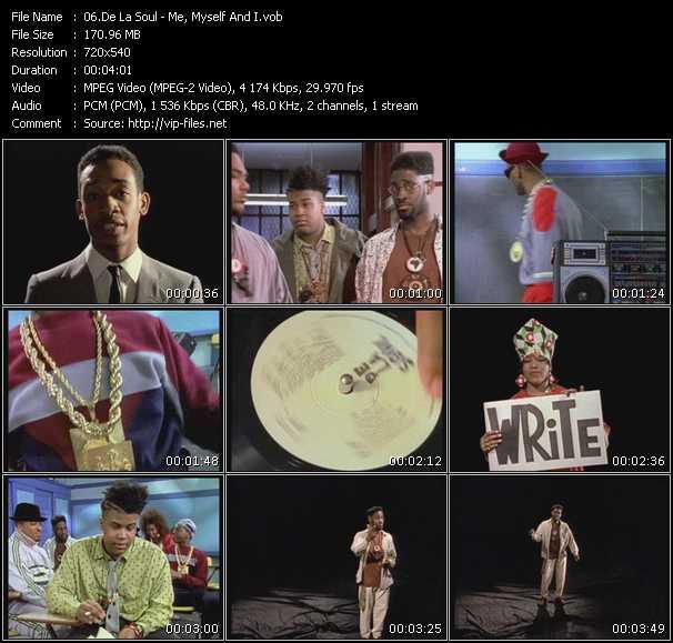 De La Soul video vob