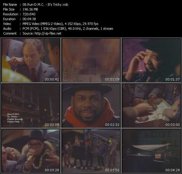 Run DMC video vob