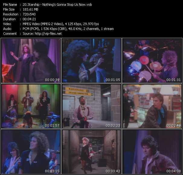 Starship (Jefferson Starship) video vob