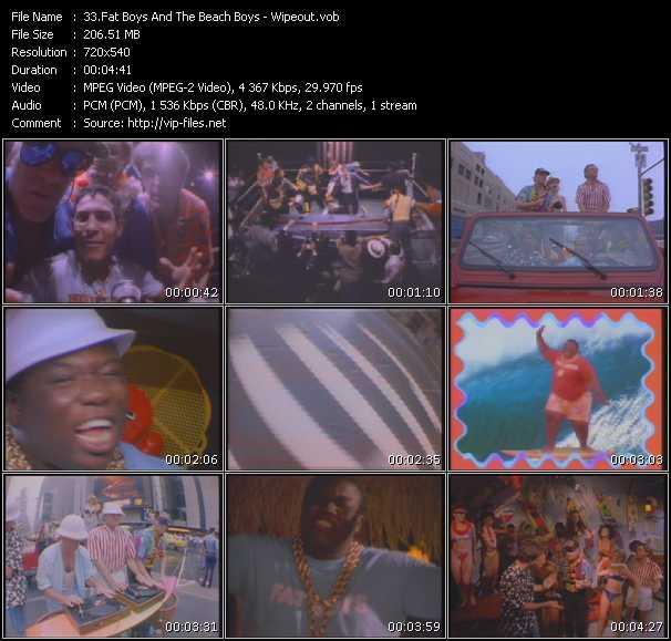 Fat Boys And The Beach Boys video vob