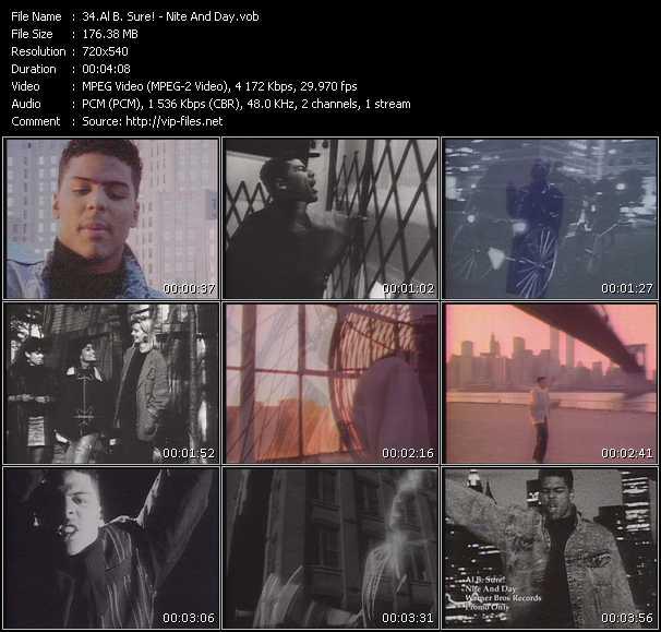 Al B. Sure! video vob