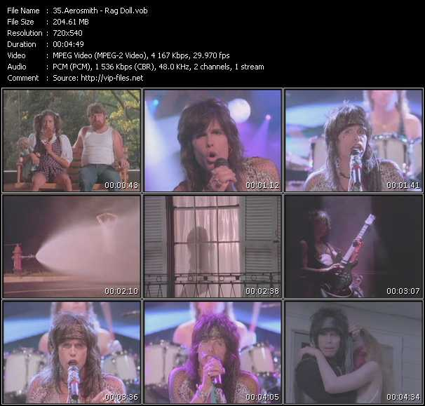 Aerosmith video vob