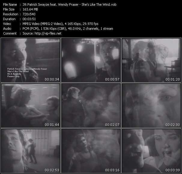 Patrick Swayze Feat. Wendy Fraser video vob