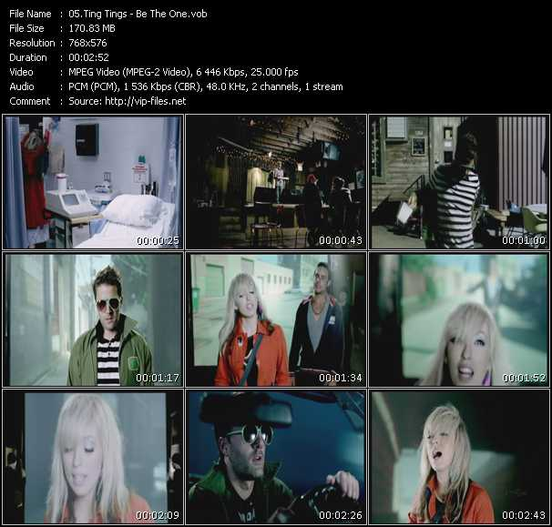 Screenshot of Music Video Ting Tings - Be The One