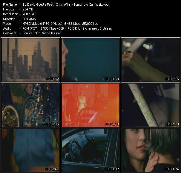 David Guetta And Chris Willis video vob
