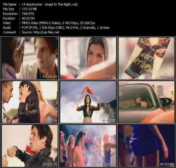 Screenshot of Music Video Basshunter - Angel In The Night