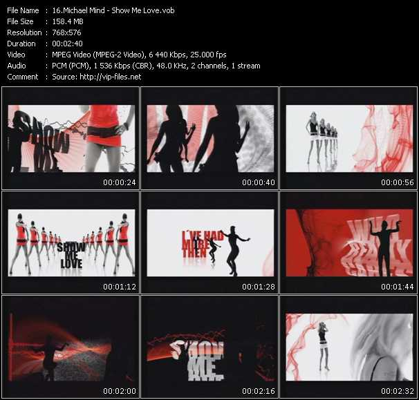 Screenshot of Music Video Michael Mind - Show Me Love