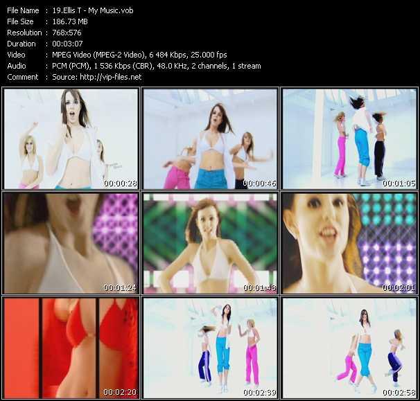 Screenshot of Music Video Ellis-T - My Music