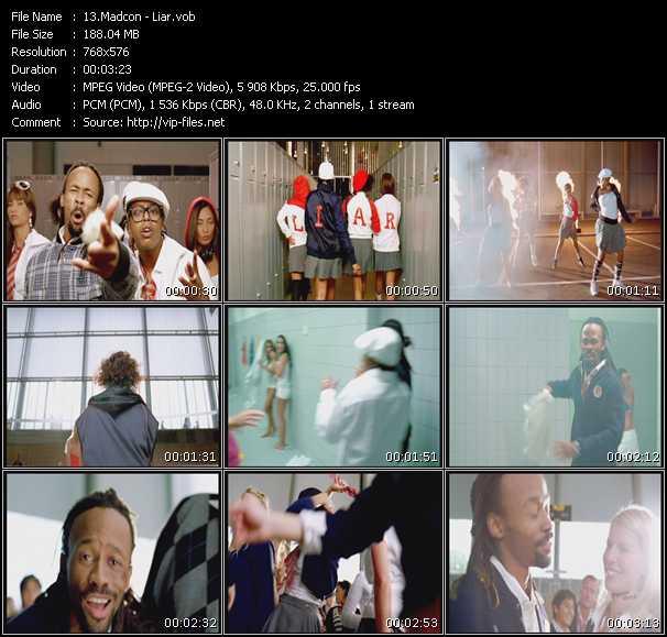 Screenshot of Music Video Madcon - Liar