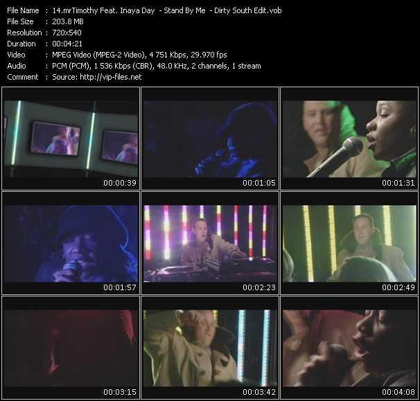 MrTimothy Feat. Inaya Day video vob