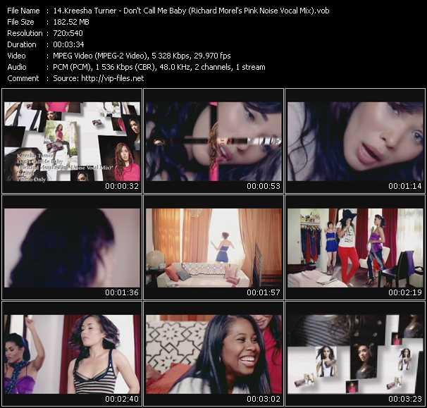 Kreesha Turner video vob