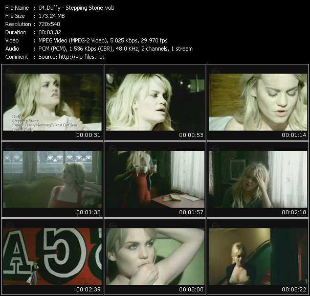 Screenshot of Music Video Duffy - Stepping Stone