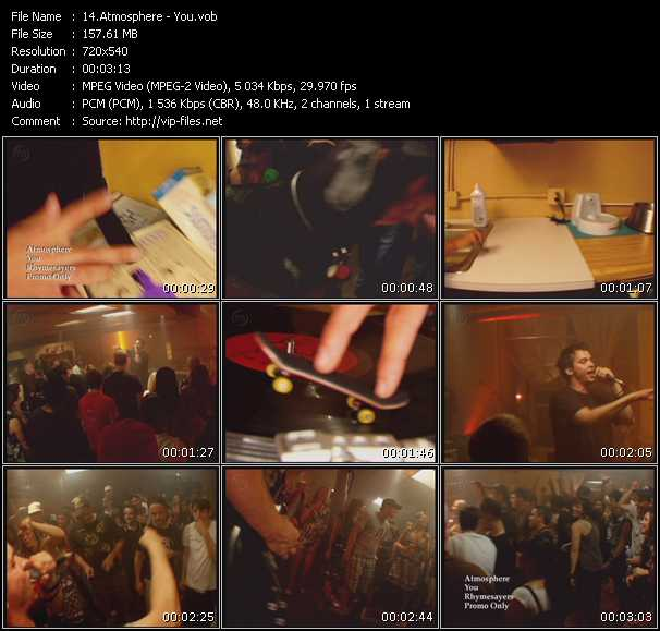 Atmosphere video vob