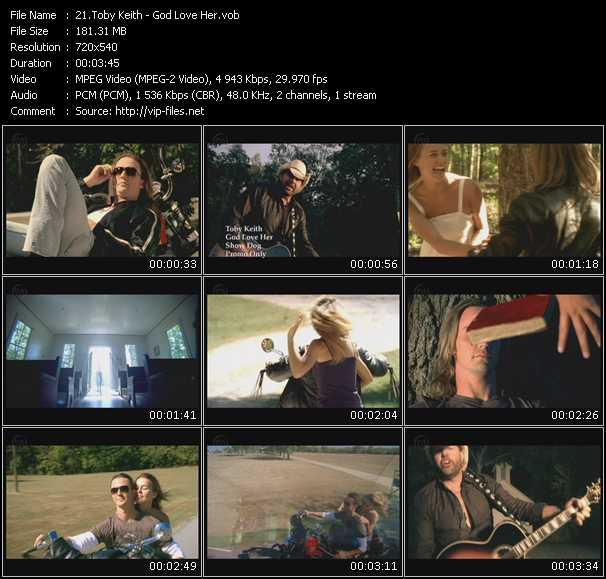 Toby Keith video vob