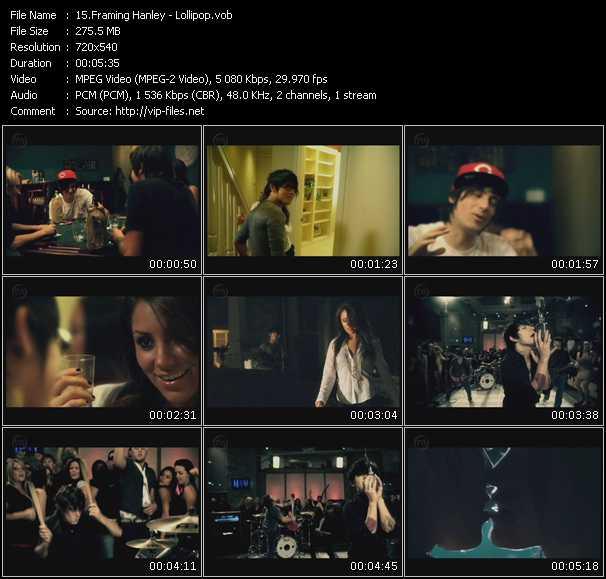 Framing Hanley video vob
