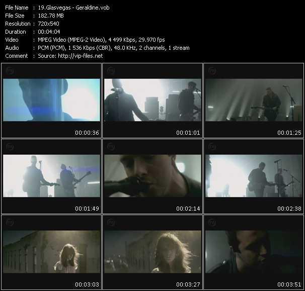 Glasvegas video vob