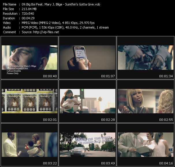 Big Boi Feat. Mary J. Blige video vob