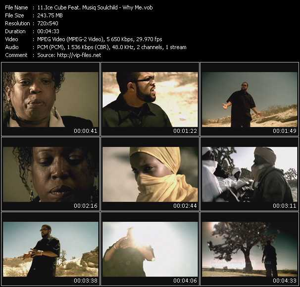 Screenshot of Music Video Ice Cube Feat. Musiq Soulchild - Why Me?