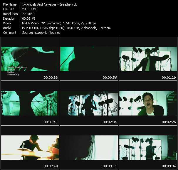 Angels And Airwaves video vob