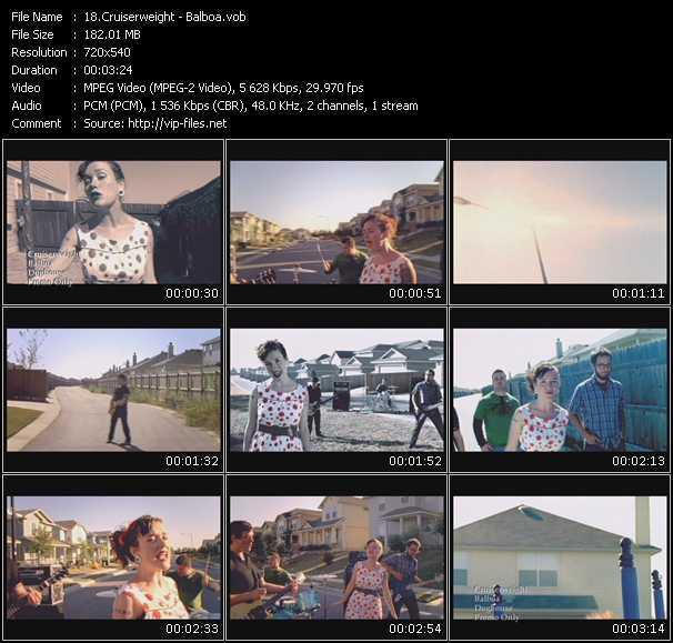 Screenshot of Music Video Cruiserweight - Balboa
