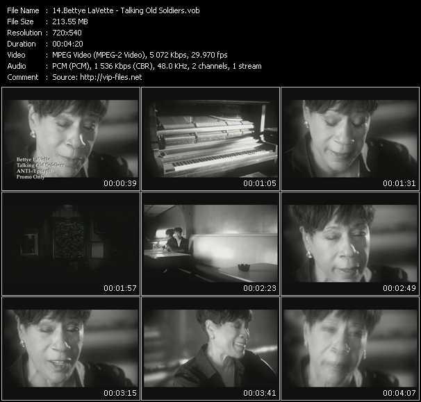 Screenshot of Music Video Bettye LaVette - Talking Old Soldiers