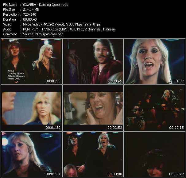 Screenshot of Music Video Abba - Dancing Queen
