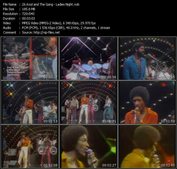 Kool And The Gang video vob