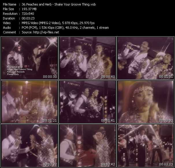 Peaches And Herb video vob