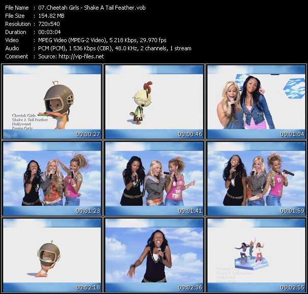 Cheetah Girls video vob