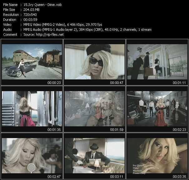 Screenshot of Music Video Ivy Queen - Dime