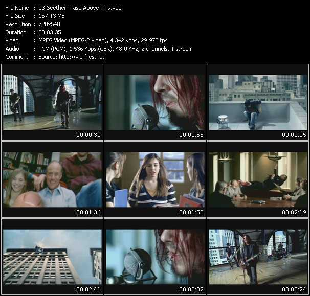 Seether video vob