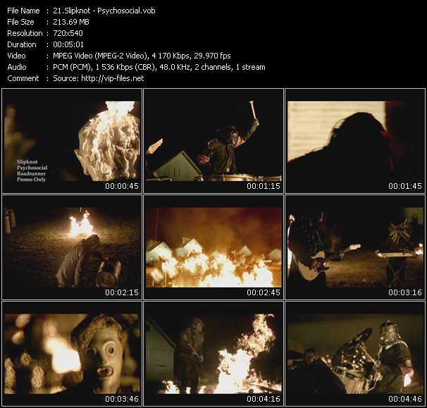 Slipknot video vob