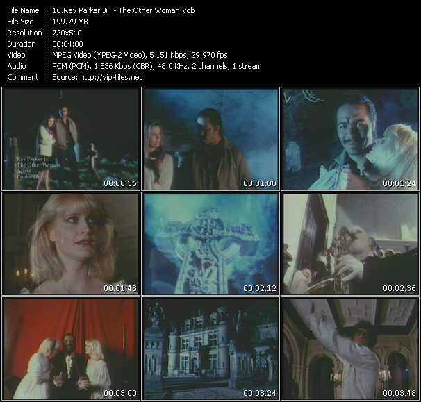 Screenshot of Music Video Ray Parker Jr. - The Other Woman