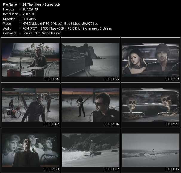 Killers video vob