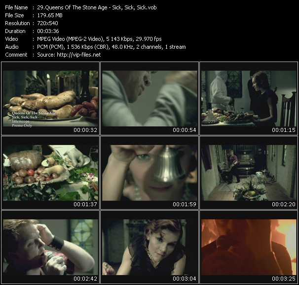 Queens Of The Stone Age video vob