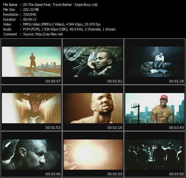Screenshot of Music Video Game Feat. Travis Barker - Dope Boys