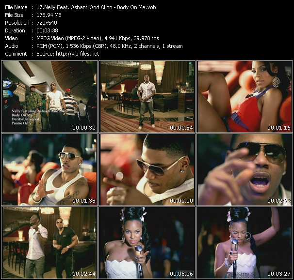 Nelly Feat. Akon And Ashanti video vob