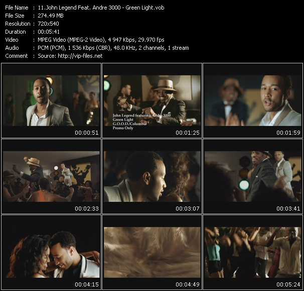 John Legend Feat. Andre 3000 video vob