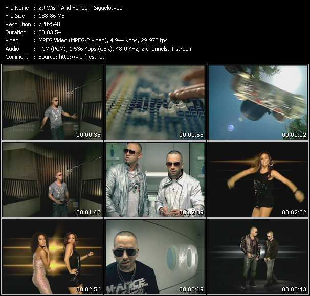 Wisin And Yandel video vob